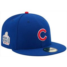 ff4506660da3f New Era Chicago Cubs World Series 59FIFTY Patch Cap ( 38) ❤ liked on  Polyvore