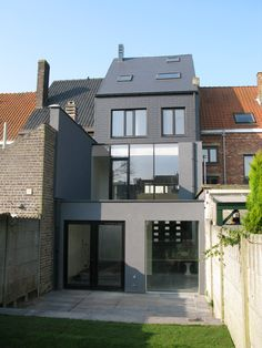 Own house, Ghent - renovation - Antico Architecture