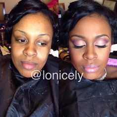 Just because. #makeup #makeupartist #nofilter #mua #ilovemacgirls #ilovemacboys…