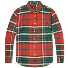 Stussy Big Plaid Shirt (Red)