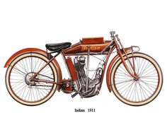 Indian Motorcycle, 1911