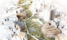 Alicante Master Plan, urban design, by Bandada Studio.