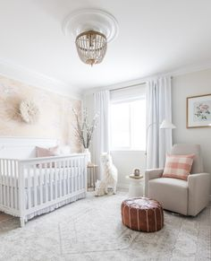 Baby Evelyn's nursery by Leclair Decor