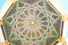 Hafez Tomb ceiling!