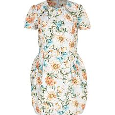 Nail your style with our new collection of women's dresses in River Island. Tulip Dress, Floral Dresses, Evening Dresses, Summer Dresses, Dresses For Sale, Floral Prints, High Neck Dress, Short Sleeve Dresses, Bodycon Dress