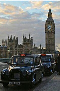 london taxi black