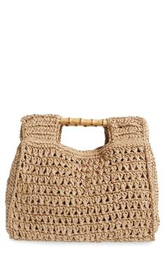 San Diego Hat San Diego Hat Woven Straw Tote available at #Nordstrom