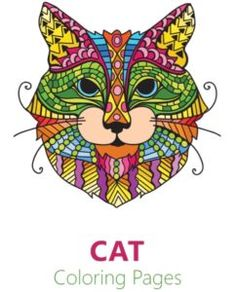 Super Coloring - Free printable coloring pages, coloring sheets, coloring book, coloring pictures Cat Coloring Page, Coloring Pages For Kids, Coloring Books, Free Kids Books, Best Free Apps, Cat Vs Dog, Doodle Lettering, Cat Colors, Printable Crafts