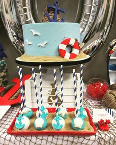 Nautical  Baby Shower Party Ideas | Photo 22 of 29