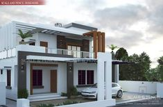 Scale and Pencil provides Modern Residential Design in Edappally, Kochi. Latest New Home Designs in Ernakulam, Kerala that fulfill your dreams.