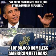 At least 1/3 of the homeless people in America are veterans. Only 50,000 would be a dream