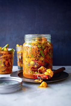 Nyonya Vegetable Pickle - The Happy Foodie  'There is a good balance of vinegar and spiciness, and an array of beautiful textures and crunchiness from the vegetables and peanuts. You can keep this for up to 4 weeks in the fridge, but the longer you keep it, the more the vegetables will lose their crispness. Eat it as a condiment with rice'