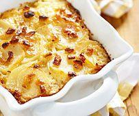 Grandma's Creamy Ham & Potato Casserole   MrFood.com