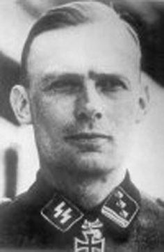 ✠ Rudolf Säumenicht (13 February 1916 — 26 August 1944) killed in action near Czarnov, on the Bug River, Eastern Front.