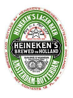 The Heineken Label – Heineken Collection