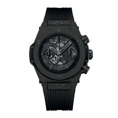 Hublot Big Bang Unico All Black 411.CI.1110.RX - face view
