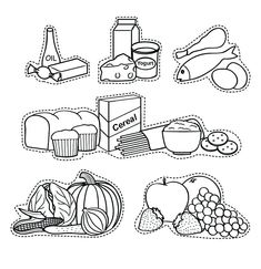 Food Pyramid Coloring Pages : Food Pyramid With Fruit And And – Healthy Foods Nutrition Activities, Nutrition Education, Kids Education, Preschool Activities, Food Pyramid Kids, Body Parts Preschool, Fruit Coloring Pages, Nutrition For Runners, Kids Homework