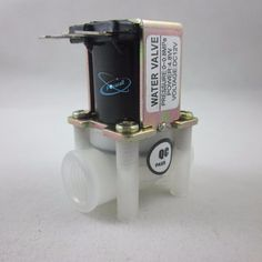 Solenoid Valve DC 12V for Water Air - N/C - 1/4 Female thread - Available in UK