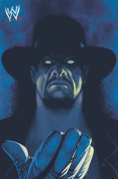 "bear1na: "" Undertaker by Frazer Irving * "" I usually post my own versions of my art, but this one has the WWE stamp in the corner, thus the seal of…"