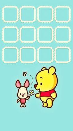 Cute Iphone 6 Wallpaper, Cellphone Wallpaper, Disney Wallpaper, Phone Wallpapers, Disney Pics, Disney Pictures, Winne The Pooh, Note Memo, Mobile Icon