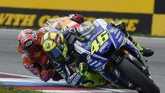 """MotoGP Brno 2014, Valentino Rossi: """"Un grande piacere battere Marquez"""""""