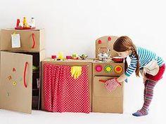 DIY : des jouets en carton!