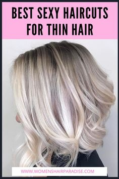 Blonde Ombre Hair, Blonde Hair Freckles, Blonde Hair Color Natural, Blonde Hair With Highlights, Thin Hair Haircuts, Easy Hairstyles For Long Hair, Cool Hairstyles, Grey Balayage, Medium Thin Hair