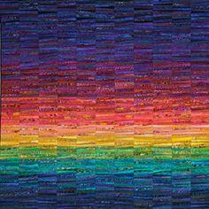 Rainbows Of Summer Quilt by Ann Brauer