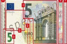 Le nouveau visage du billet de 5 euros