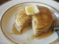 Perfect Pancakes ($0.04 each) 1 cup flour 1 tablespoon baking powder 1 tablespoon sugar 1/2 teaspoon salt 1 egg, beaten 1 cup milk 1 tablespoon vegetable oil