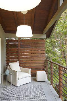 Deck Privacy Walls Design Ideas, Pictures, Remodel and Decor Balcony Privacy Screen, Privacy Walls, Balcony Railing, Privacy Screens, Petite Pergola, Small Pergola, Balcony Design, Deck Design, Railing Design