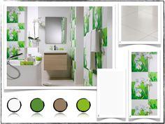 Mod le salle de bain moderne quelques id es fascinantes - Salle de bain vert et marron ...
