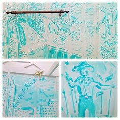 Lilly Pulitzer Retail Store: Southlake, TX  Get ready for your close-up, Tex! (Texas Toile dressing room)