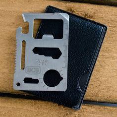 Credit Card Survival Tool | 9-in-1 Multi Tool