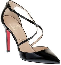 "Christian Louboutin ""Crosspiga"" Pumps"