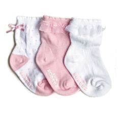 Robeez - Robeez Baby Girl Socks, 3 Pack, $10.00 (http://www.myrobeez.com/robeez-baby-girl-socks-3-pack/)