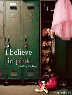 I believe in #ballet #pink!