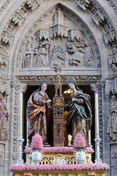 Santas Justa y Rufina, copatronas de la ciudad de Sevilla. #Sevilla #Seville #sevillaytu @sevillaytu
