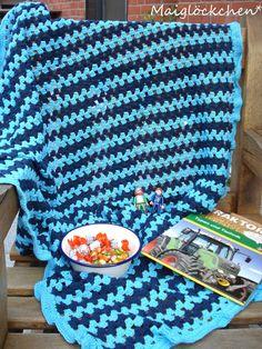 crochet blanket ... simple pattern