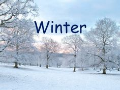 Features of Winter for Early YEars - A ppt about the different features of winter.
