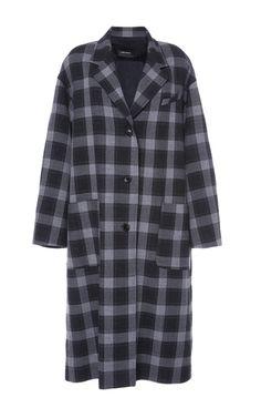 Ina Longline Oversized Coat by ISABEL MARANT for Preorder on Moda Operandi