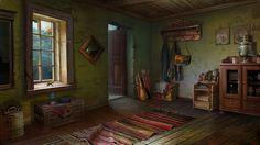 """HOPA location """"Bedroom"""", Argali Entertainment on ArtStation at https://www.artstation.com/artwork/41eW4"""