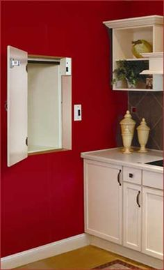 This dumbwaiter made by Ascent allows someone with a physical disabilities and mobility issues to easily move objects from one floor to another. Dumb Waiter, Basement Flooring, House Elevation, Home Hardware, My Dream Home, New Kitchen, Bathroom Medicine Cabinet, Home Kitchens, Kitchen Remodel