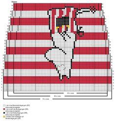 Muminmamma-raggsockor Novita Muumitalo | Novita knits Knitted Mittens Pattern, Knitting Paterns, Knitting Charts, Lace Knitting, Knitting Socks, Loom Crochet, Crochet Chart, Blackwork Embroidery, Plastic Canvas Patterns