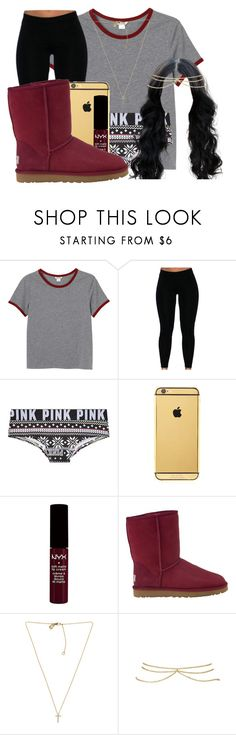 """Baby, are you here looking for love? Are you drunk, have you had enough?"" by werparadise ❤ liked on Polyvore featuring Monki, Goldgenie, UGG Australia, Michael Kors and ASOS"