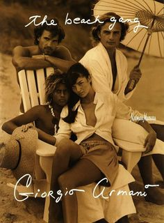 Art of Fashion, Spring 2004. Photographed by Bruce Weber.