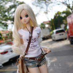 Bjd, Kawaii Doll, Pretty Females, Realistic Dolls, Anime Dolls, Smart Doll, Female Character Design, Doll Repaint, Ball Jointed Dolls