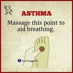 #naturalasthmacures #ShiatsuMassage #naturalasthmatreatment Asthma Remedies, Asthma Relief, Acupuncture Benefits, Massage Benefits, Acupressure Treatment, Acupressure Points, Acupressure Therapy, Massage Tips, Traditional Chinese Medicine