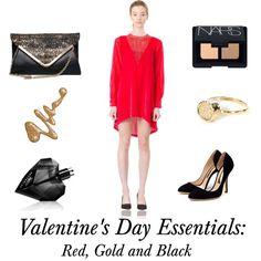 """Valentine's Day Essentials"" by lastashop on Polyvore"