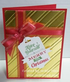 christmas cards, christma card, bow tutorial, foil cards, paper, finger bow, merri christma